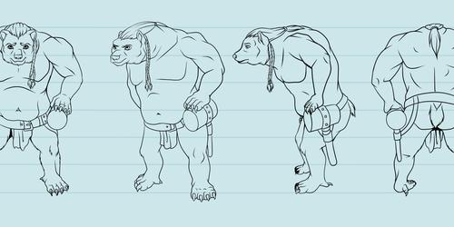 Character Design Rotation