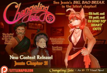 Changeling Tale - Jessie's Chapter 3 Release!
