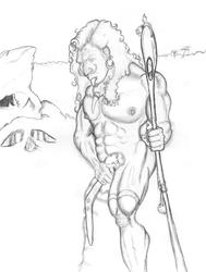Sexy Denisovan Man
