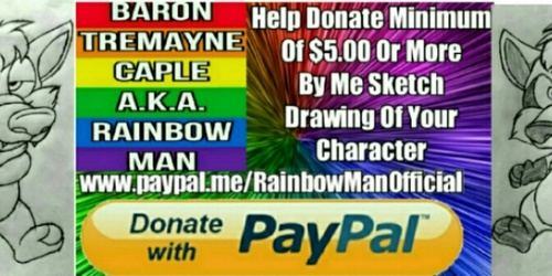 Help By Donation Minimum Of $5.00 Or More