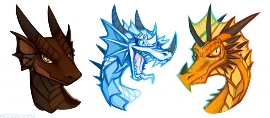 Headshots - Three Dragon Friends