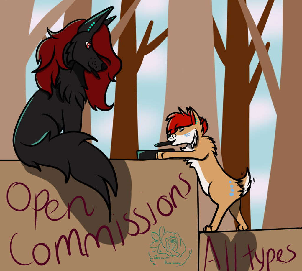 Most recent image: Open commissions