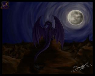 Slayer - Western Dragon - Digital Art