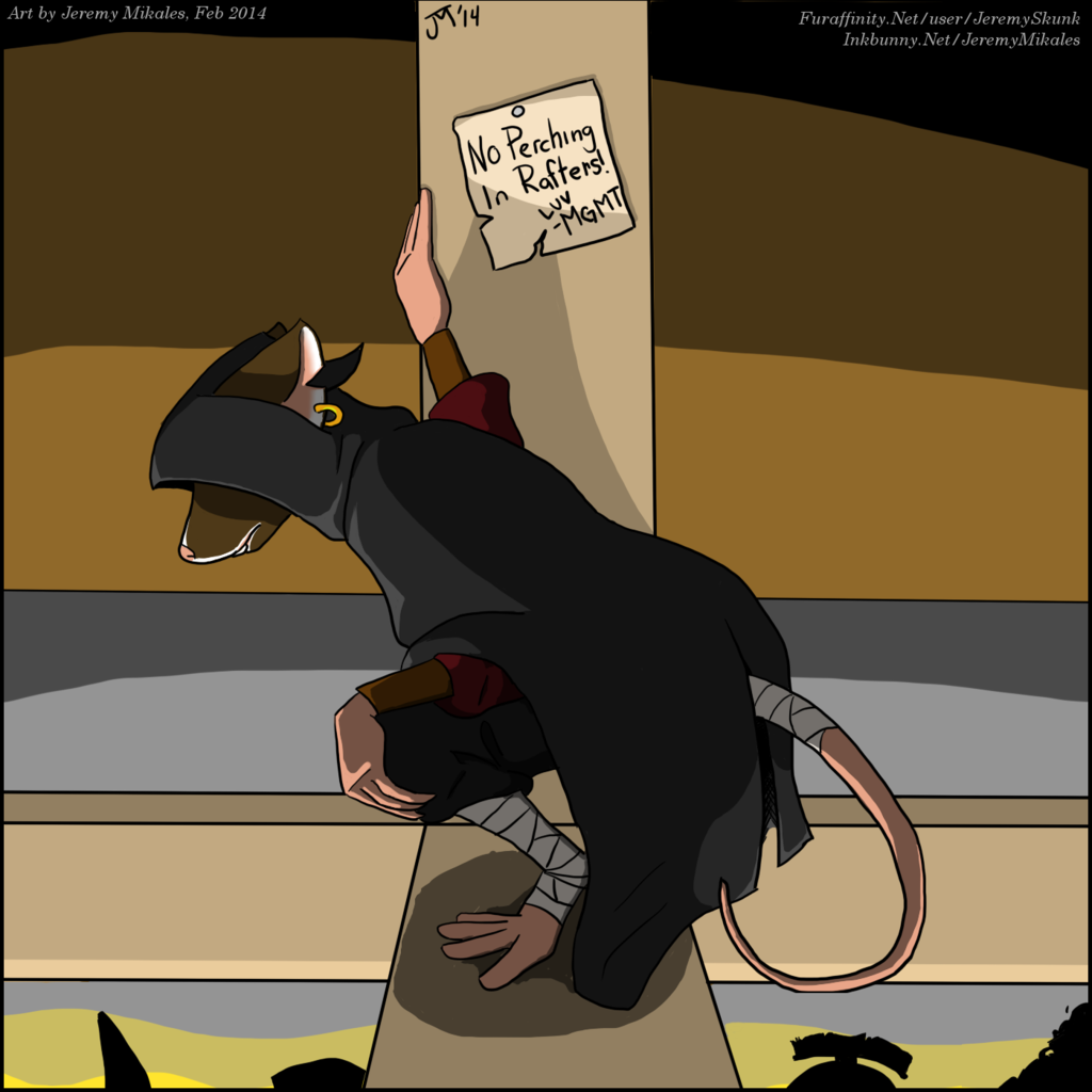 Most recent image: A Rat in the Rafters