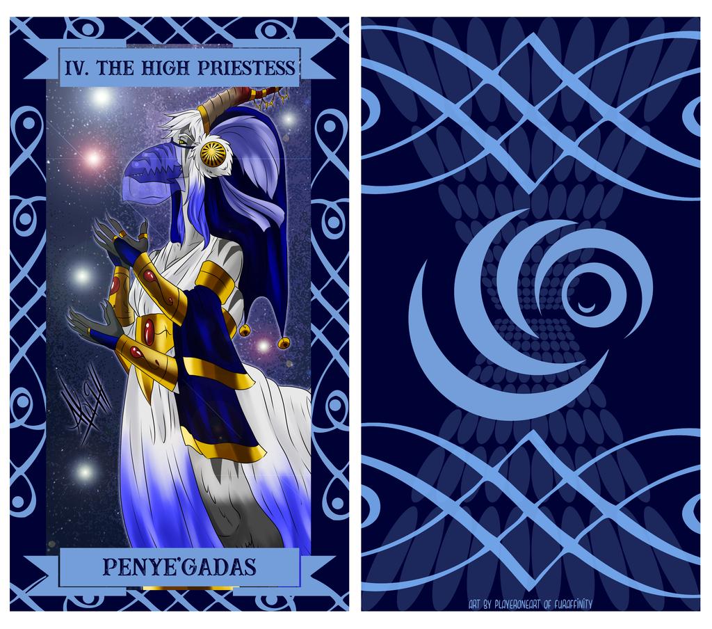 The Uragi Tarot - IV The High Priestess