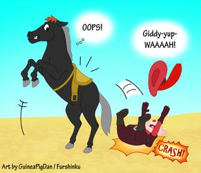 Cubbi falls off his high horse