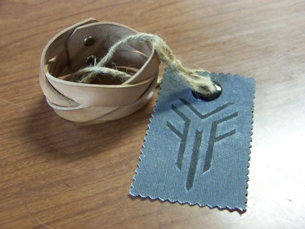 Leather Projects - Mystery Braid Wristband