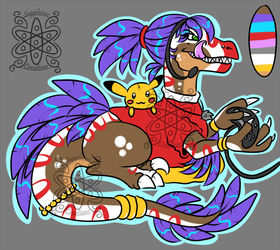 Gamer Girl Raptor +design+ (SOLD)
