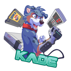 Kade Power Glove badge