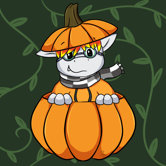 Most recent image: I found a pumpkin
