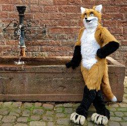 Fox fursuit