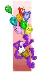 [Commish] Balloon Monkey