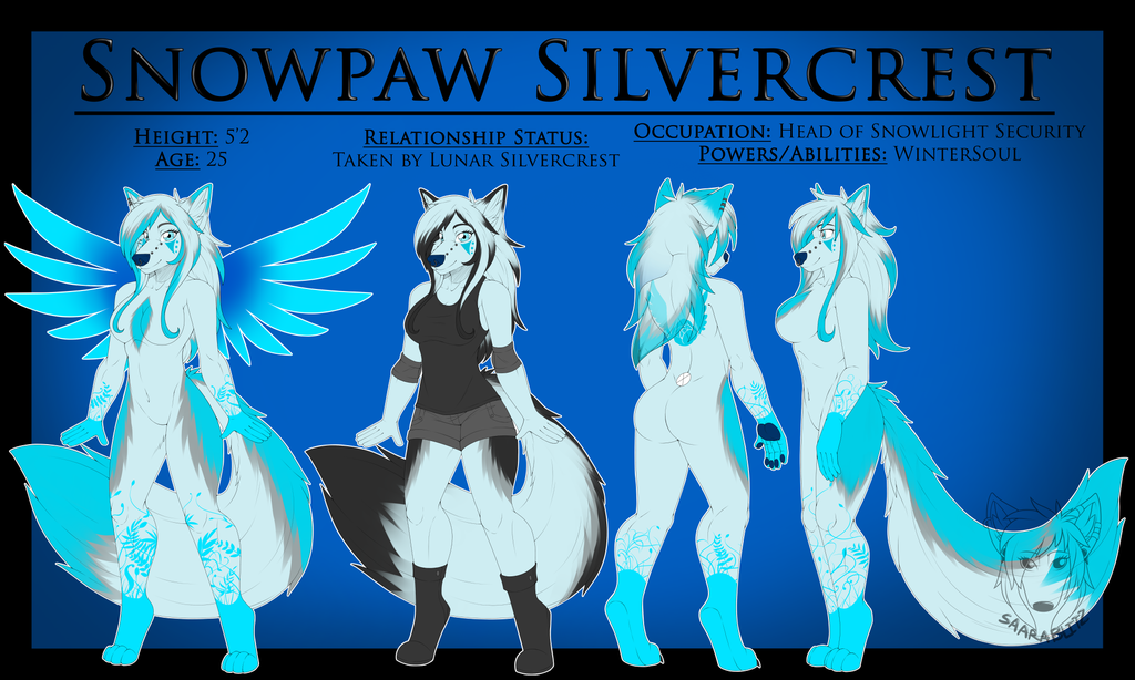 Commission: Snowpaw Silvercrest