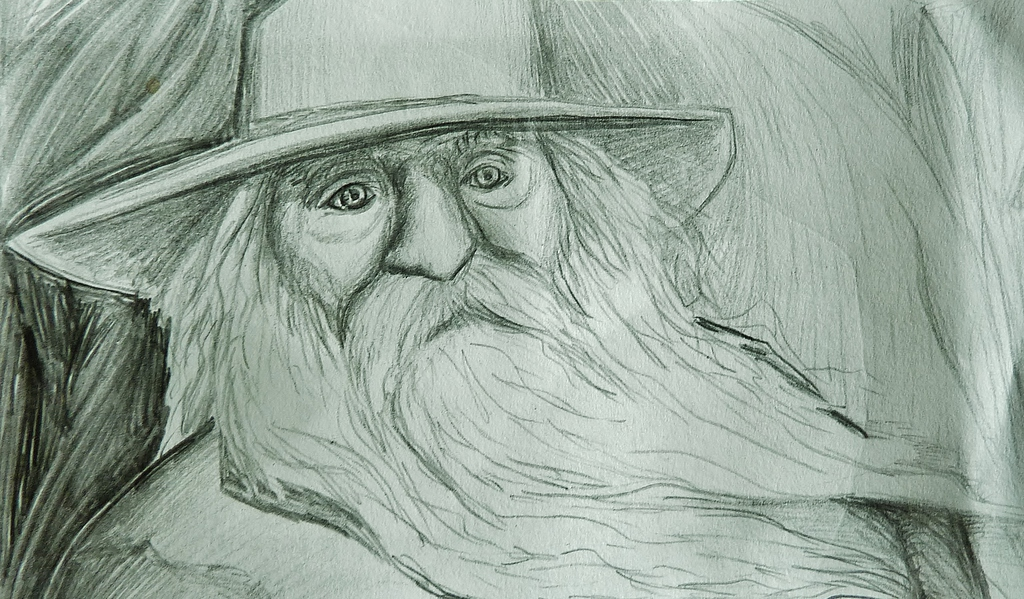 Whitman Sketch