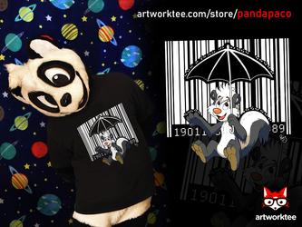 Bar Code Skunk (T-Shirt)