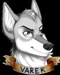 Commission: Varek Badge