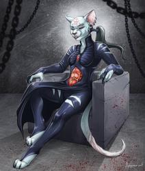 "Halloween Commission ""Cenobite"""