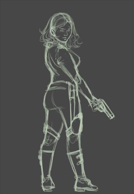[2015] Black Widow (sketch)
