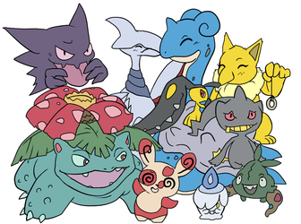Pokemon Love group