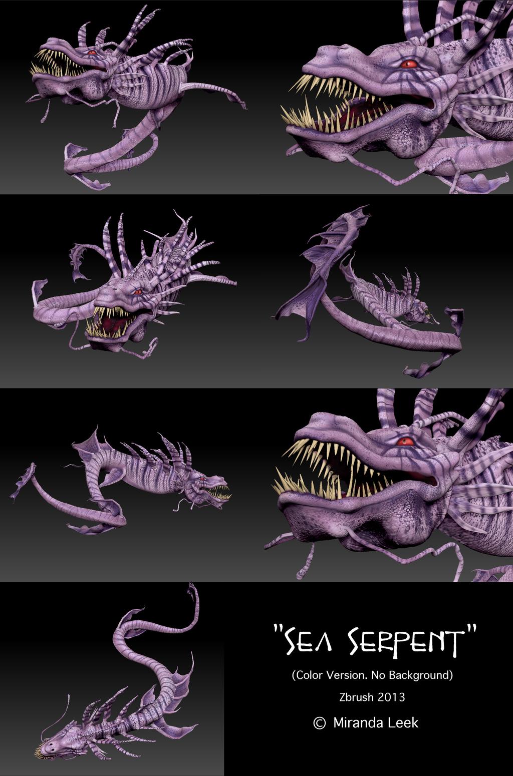 Sea Serpent (color version)