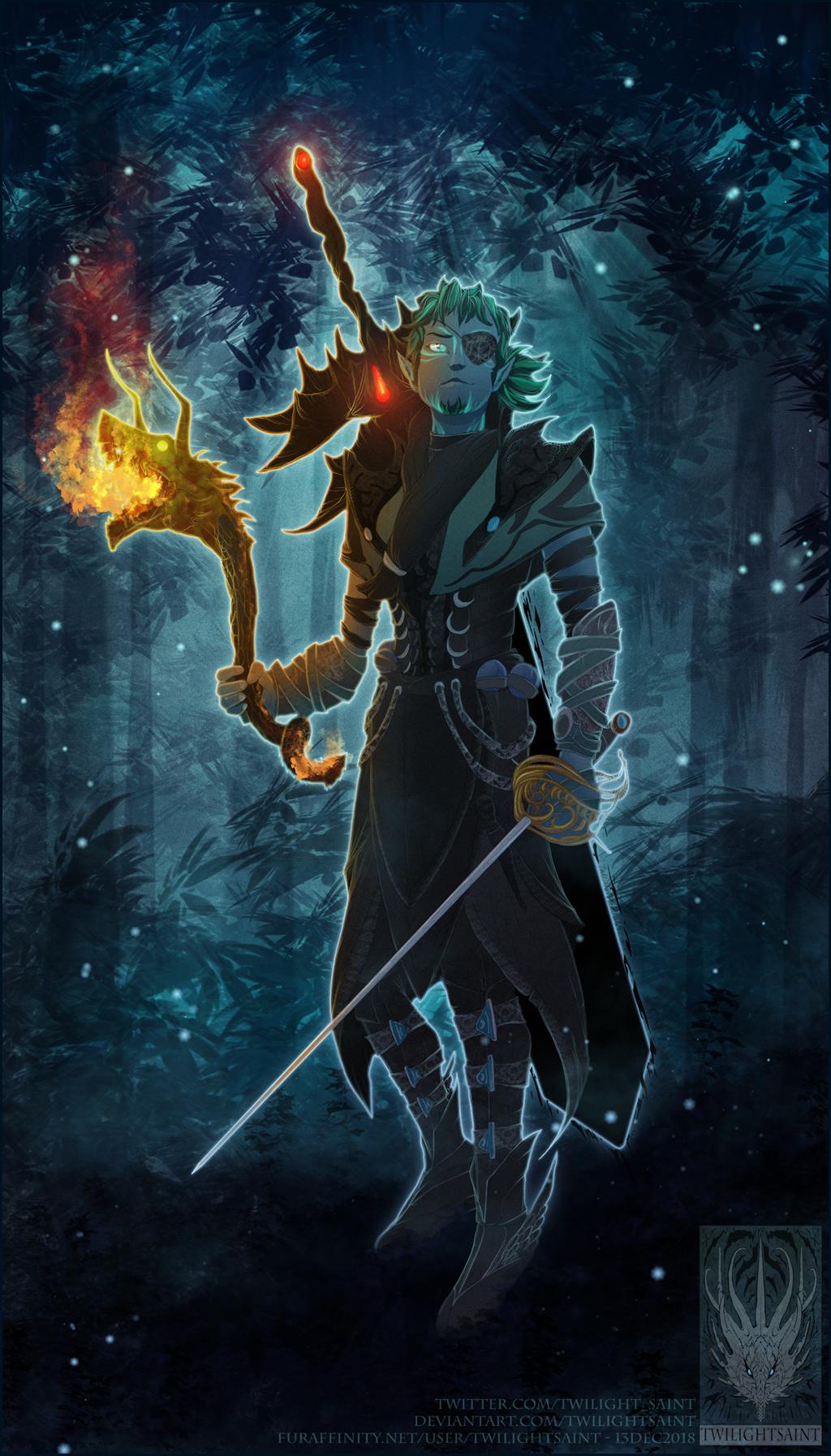 Flats Comish - Midnight Warrior