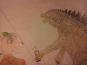 Godzilla's First appearance