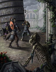 Heroes of Morhost RPG cover