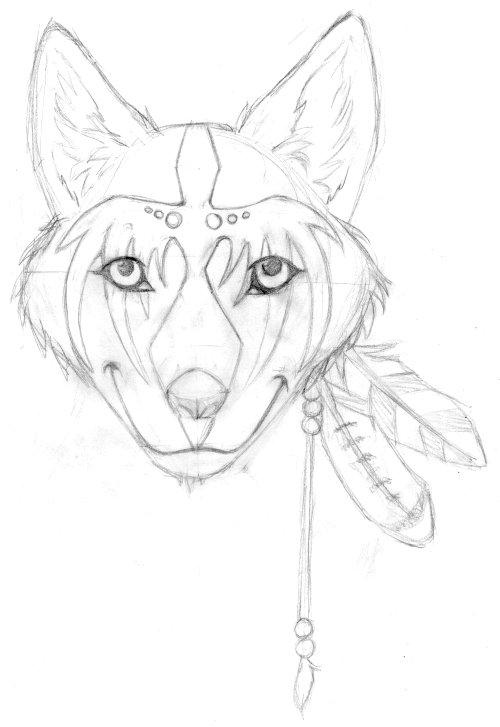 RavenWolf sketch