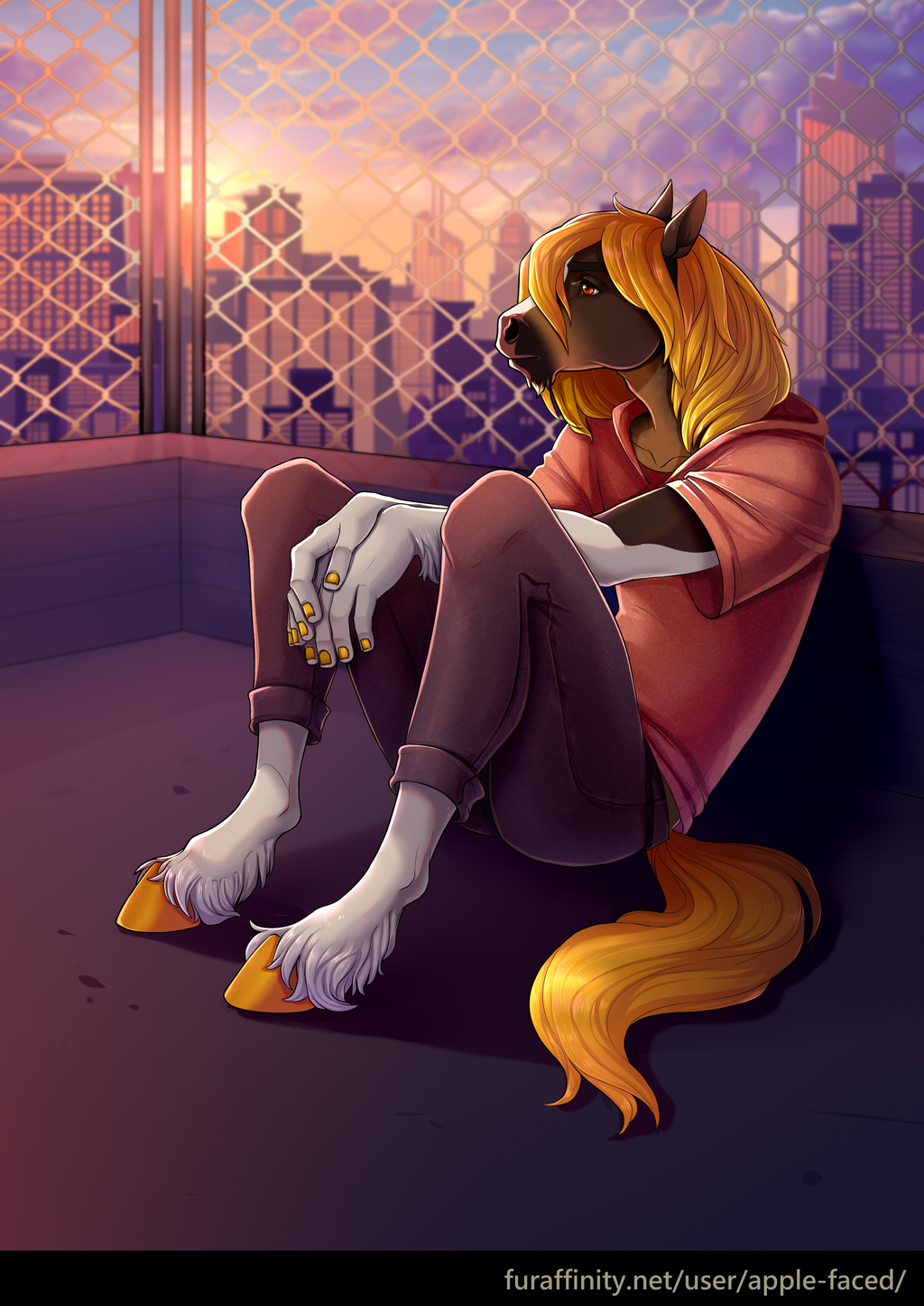 Melancholic (Commission)