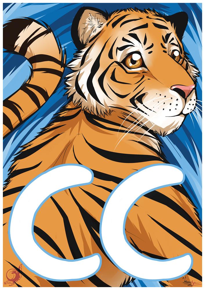 CC Tiger Badge