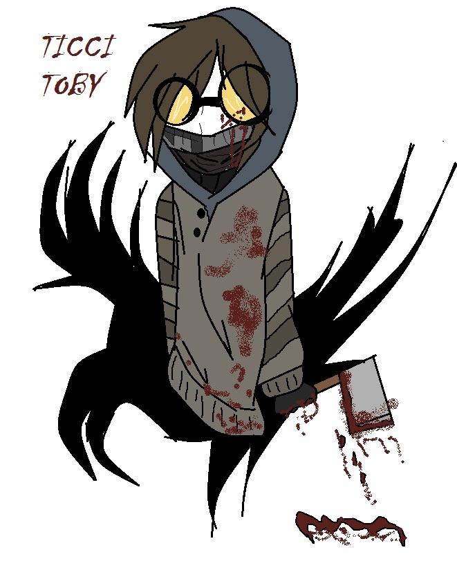 ticci toby creepypasta weasyl