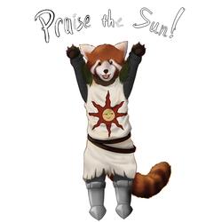 Praise the Sun! Red Panda Edition