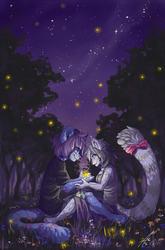Summer Fireflies - Commission