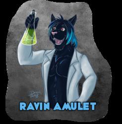 MFF - Ravin Amulet Badge