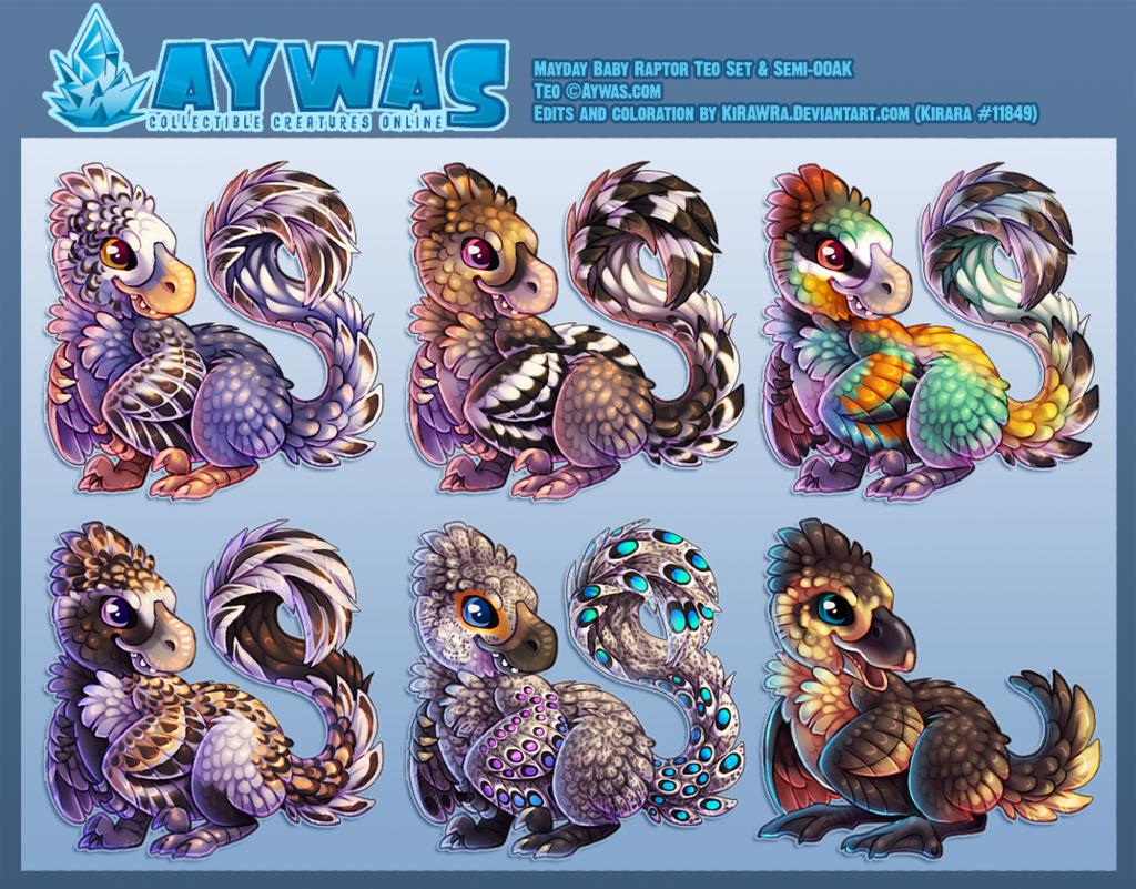 Aywas: Mayday Baby Raptor Teo