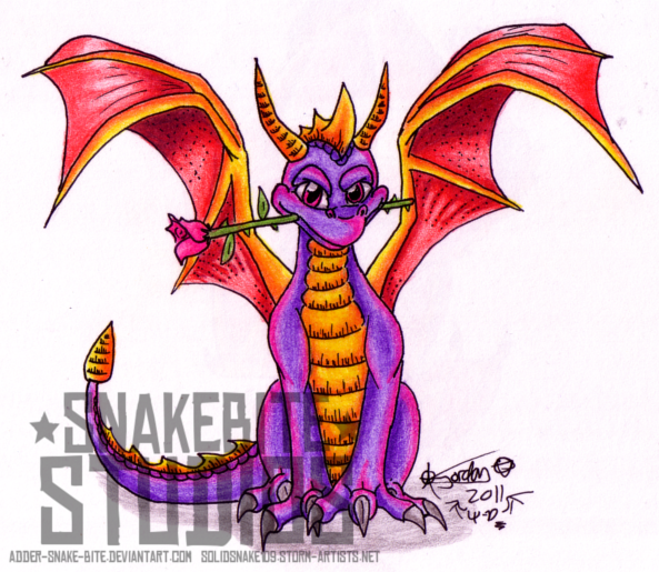 Spyro: A rose for my love
