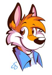 Portrait Fox