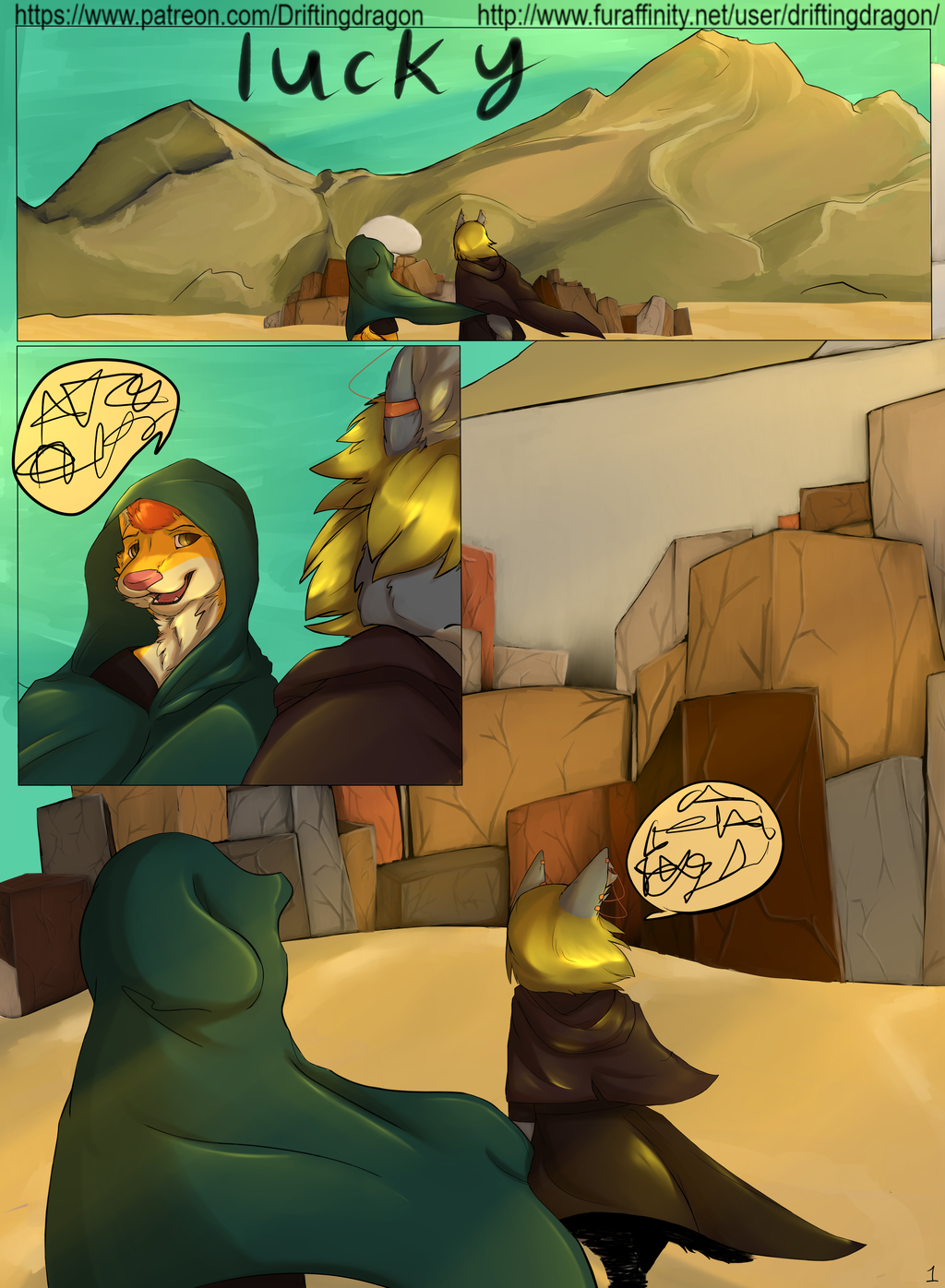 Most recent image: Lucky: Prologue P1