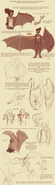 Featured image: Bat Wing Tutorial