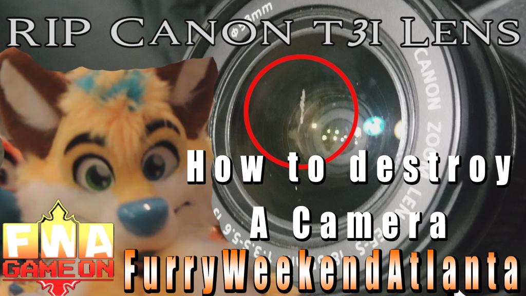 How To Destroy Cameras VIDEO