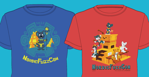 NordicFuzzCon shirts