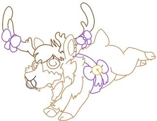 Pierce Rage Reindeer by Rotking