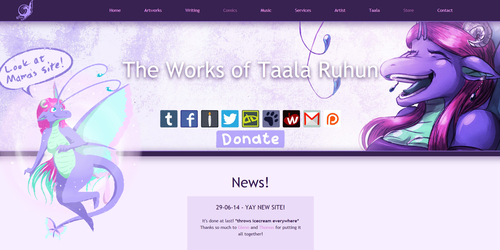 MY WEBSITE IS DONE!