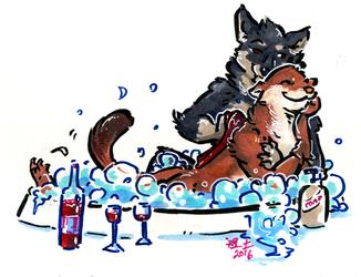 [patreon rewards] bubble bath