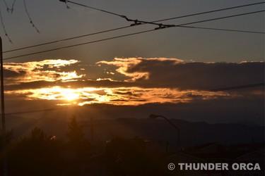 Sunrise shot January 16