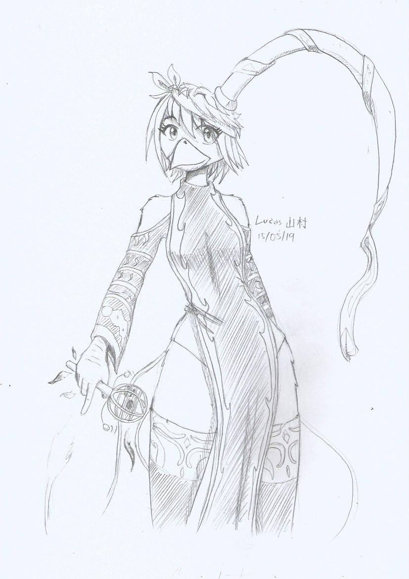 Flare Sketch 160519