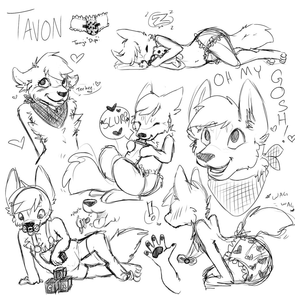 Tavonwulfe Sketch Page