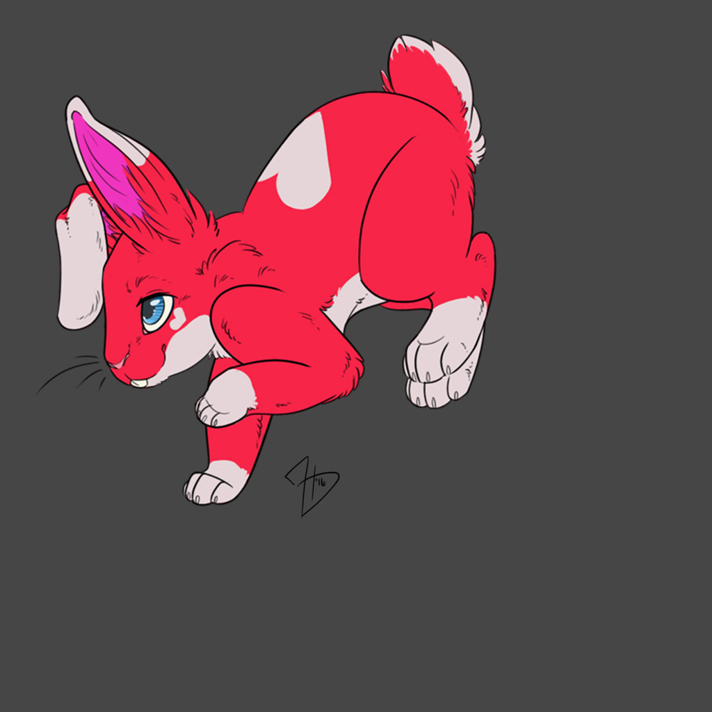 Most recent image: Feral Mikey Bunny