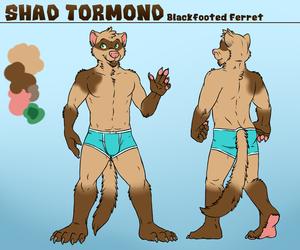 Shad Tormond - Character Ref Sheet