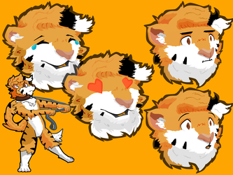 [Comm] Kodakins stickers